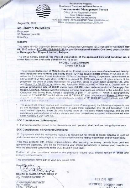 ecc-amendments-jinky-palmares-mining-san-roque-libertad-01-415x600 Sample Application Letter Management on summer job, for graduation, for training,